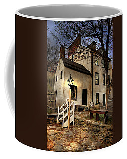 Coffee Mug featuring the digital art Night Watchman by Mary Almond