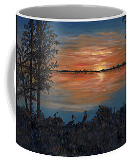Nightfall At Loxahatchee Coffee Mug