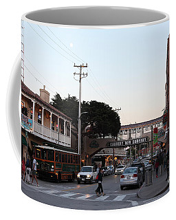 Nightfall Over Monterey Cannery Row California 5d25144 Coffee Mug