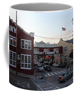 Nightfall Over Monterey Cannery Row California 5d25146 Coffee Mug