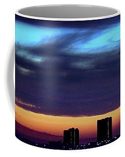 Coffee Mug featuring the photograph Nightfall Over Pensacola Beach by Faith Williams