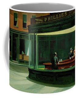 Nighthawks Coffee Mug by Edward Hopper