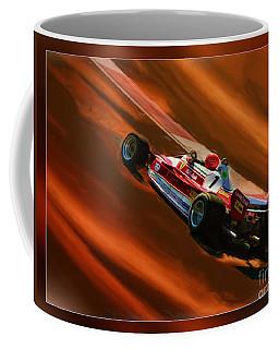 Niki Lauda's Ferrari Coffee Mug
