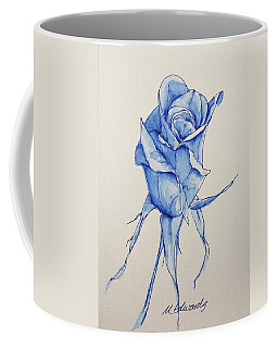 Niki's Rose Coffee Mug by Marna Edwards Flavell