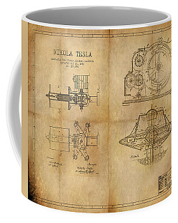 Nikola Telsa's Work Coffee Mug by James Christopher Hill