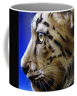 Nina The Snow Leopard Coffee Mug