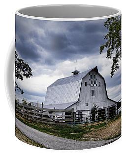 Nine Patch Quilt Barn Coffee Mug