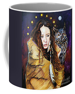 Nine Stars Woman / Owl Medicine Coffee Mug