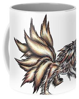Nine Tails Wolf Demon Coffee Mug