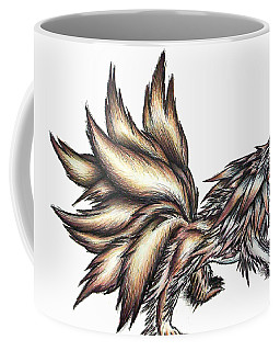 Nine Tails Wolf Demon Coffee Mug