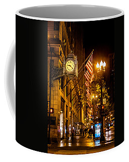 Nine Twenty Two Coffee Mug by Melinda Ledsome