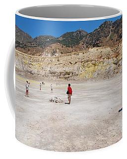 Nisyros Volcano Greece Coffee Mug