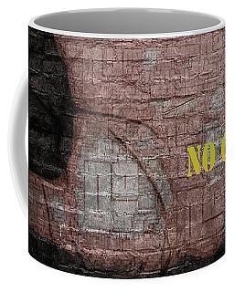 Coffee Mug featuring the digital art No Graffiti by ISAW Company