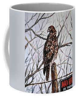 No Hunting Coffee Mug