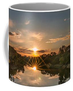 Mississippi Sunset Double Starburst Coffee Mug