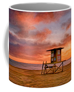 No Lifeguard On Duty At The Wedge Coffee Mug