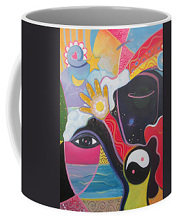 No Small Dream Coffee Mug by Helena Tiainen