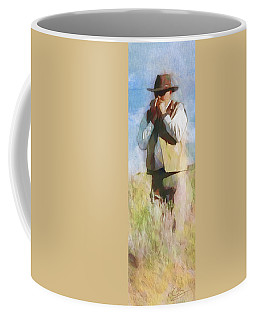 No Useless Cares - Panoramic Coffee Mug