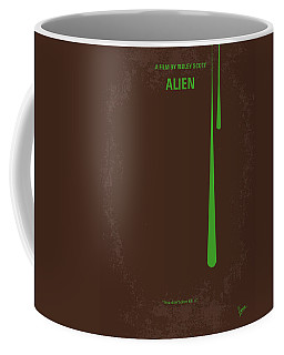 No004 My Alien Minimal Movie Poster Coffee Mug