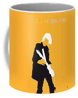 No004 My Nirvana Minimal Music Poster Coffee Mug