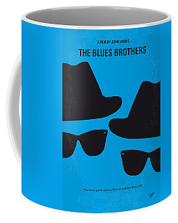 No012 My Blues Brother Minimal Movie Poster Coffee Mug