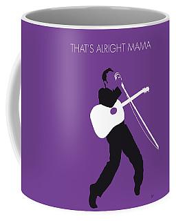 No021 My Elvis Minimal Music Poster Coffee Mug