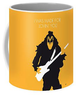 No024 My Kiss Minimal Music Poster Coffee Mug