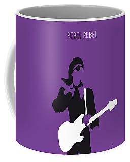 No031 My Bowie Minimal Music Poster Coffee Mug