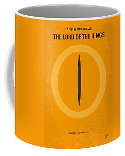 No039 My Lord Of The Rings Minimal Movie Poster Coffee Mug