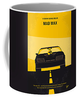 No051 My Mad Max Minimal Movie Poster Coffee Mug