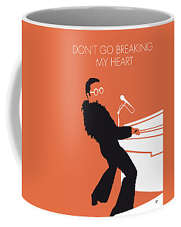No053 My Elton John Minimal Music Poster Coffee Mug