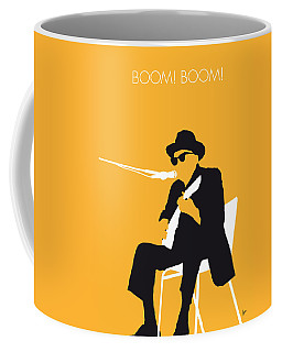 No054 My Johnny Lee Hooker Minimal Music Poster Coffee Mug