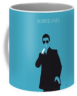 No055 My Robin Thicke Minimal Music Poster Coffee Mug