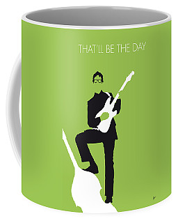 No056 My Buddy Holly Minimal Music Poster Coffee Mug