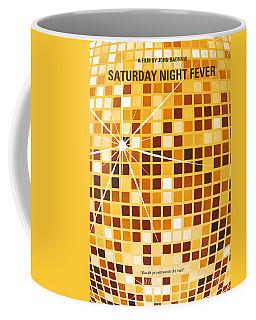 No074 My Saturday Night Fever Minimal Movie Poster Coffee Mug