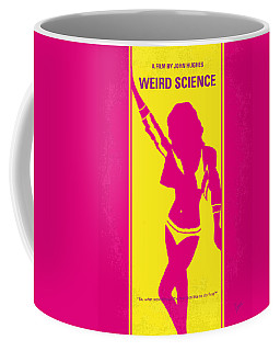No106 My Weird Science Minimal Movie Poster Coffee Mug