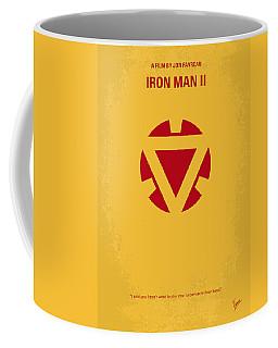 No113 My Iron Man Minimal Movie Posterno113-2 My Iron Man 2 Minimal Movie Poster Coffee Mug