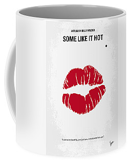 No116 My Some Like It Hot Minimal Movie Poster Coffee Mug