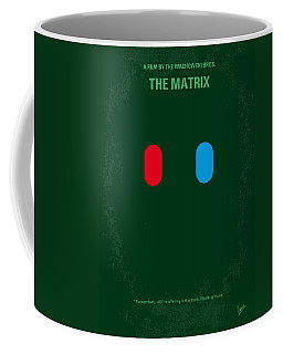 No117 My Matrix Minimal Movie Poster Coffee Mug
