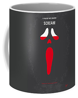 No121 My Scream Minimal Movie Poster Coffee Mug