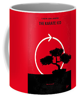 No125 My Karate Kid Minimal Movie Poster Coffee Mug