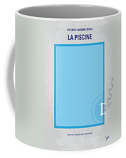 No137 My La Piscine Minimal Movie Poster Coffee Mug