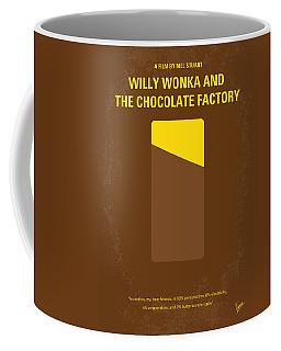 No149 My Willy Wonka And The Chocolate Factory Minimal Movie Poster Coffee Mug