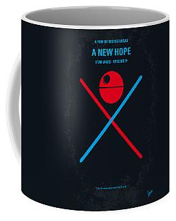 No154 My Star Wars Episode Iv A New Hope Minimal Movie Poster Coffee Mug by Chungkong Art