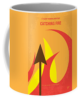 No175-2 My Catching Fire - The Hunger Games Minimal Movie Poster Coffee Mug