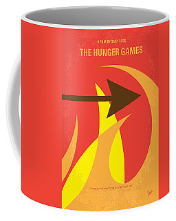 No175 My Hunger Games Minimal Movie Poster Coffee Mug