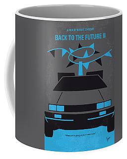 No183 My Back To The Future Minimal Movie Poster-part II Coffee Mug