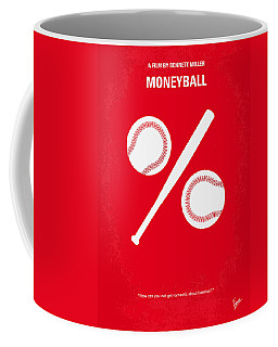 No191 My Moneyball Minimal Movie Poster Coffee Mug