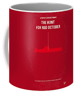 No198 My The Hunt For Red October Minimal Movie Poster Coffee Mug