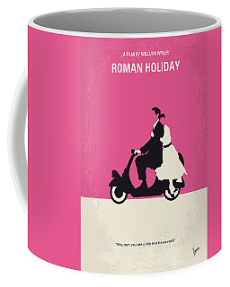 No205 My Roman Holiday Minimal Movie Poster Coffee Mug